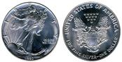 UNITED STATES Silver Bullion 1990 SILVER EAGEL